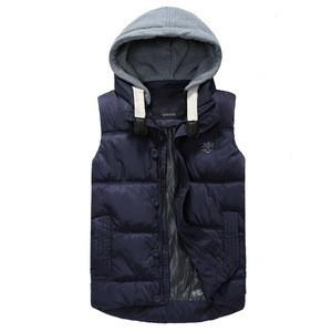Winter work vest OEM manufacturer men's waistcoat jacket