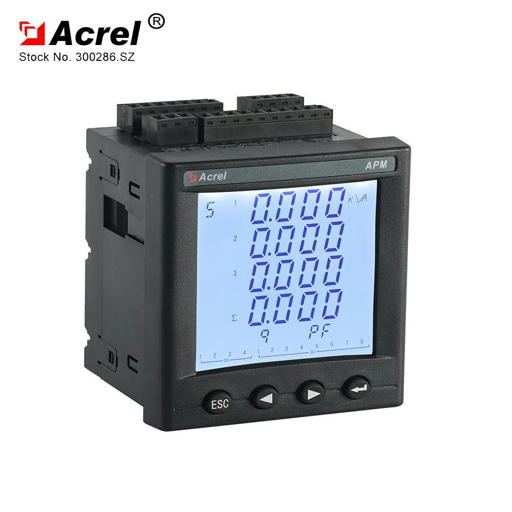 ACREL APM800 power monitoring unit three phase electrical analyzer