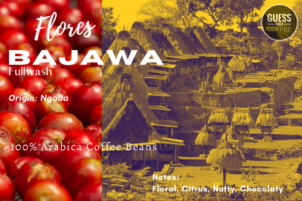 Arabica Green Coffee - Flores BAJAWA