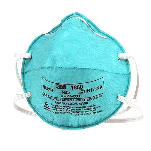 3M 1860S SURGICAL MASK Health Care Particulate Respirator and Surgical Mask