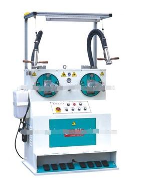 XTPB-2 Automatic bootleg flattening machine/shoe machine