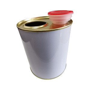 1L Round paint engine oil Can