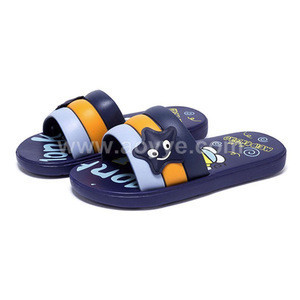 2018 wholesale fashion cartoon summer beach children EVA five-pointed star striped slippers