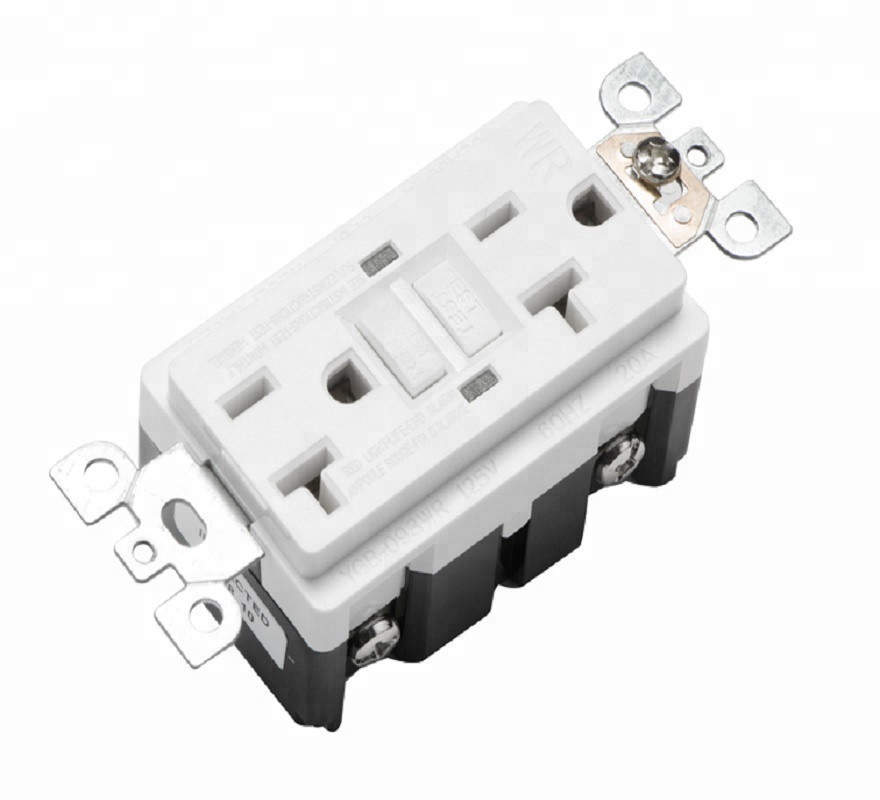 220V gfci outlet receptacle waterproof gfci YGB-093