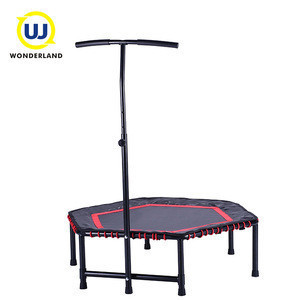 48''x42'' Hex GYM fitness bounce trampoline without enclosure