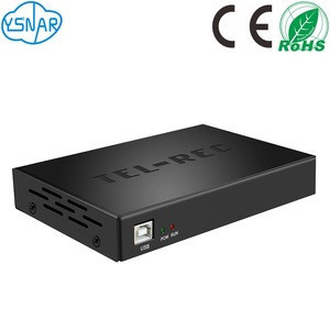 8 Channels/Ports CDR USB Telephone Recording Box, 8 Lines Phone Voice and Caller ID Recorder