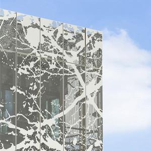 Aluminum decorative wall panel for metal curtain wall & facade