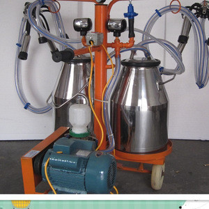 automatic double cup group cow milking machine price in India