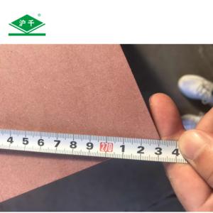 B1-B 4x10x12mm E1 mdf fire resistant retardant mdf fiber board for theater and hotel