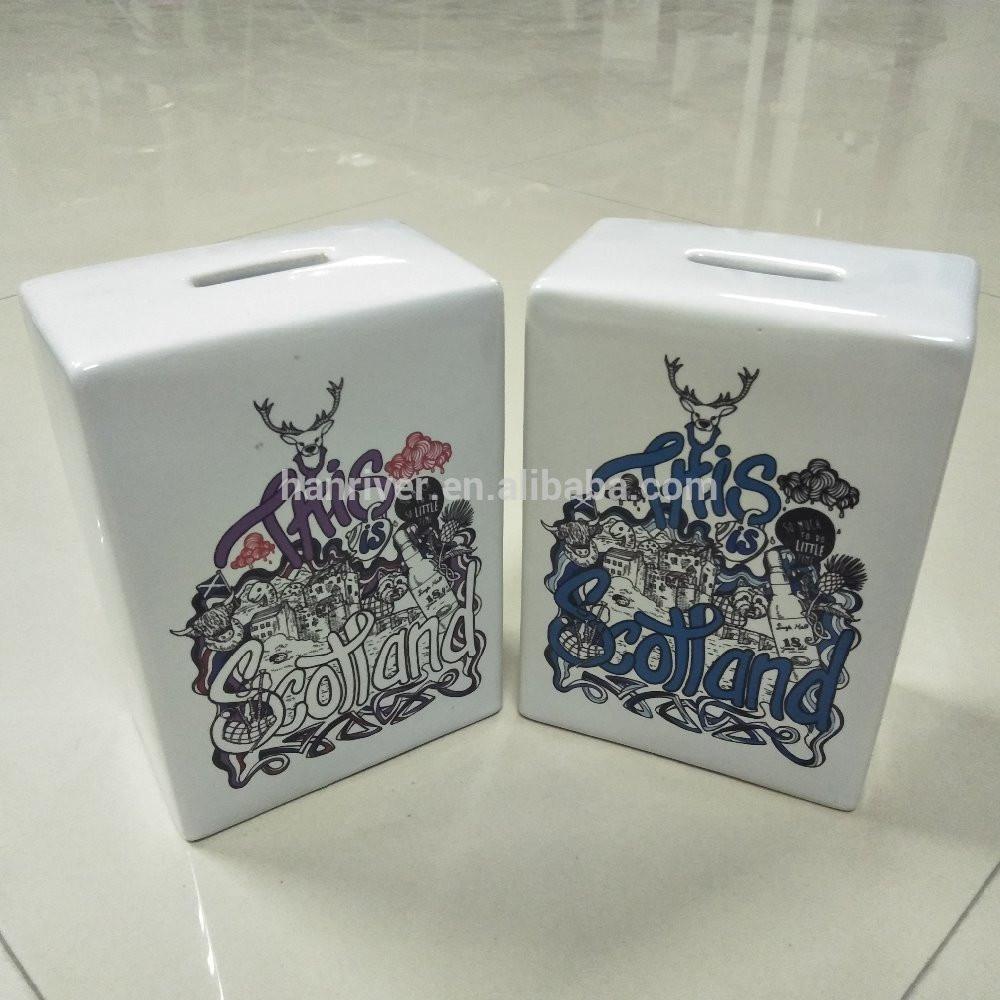 Ceramics money saving box