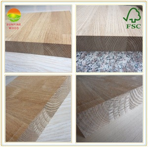 Cheap price interior decorative finger joint laminated wood board