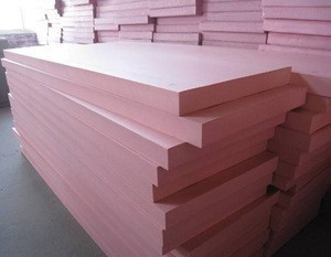 China manufacture fire proof polystyrene sheets extruded 18mm pvc foam board