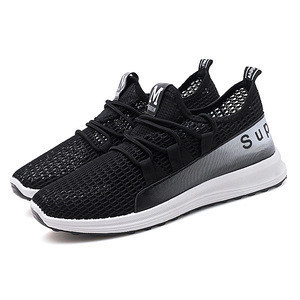 China net surface breathable casual mesh shoe fashion line shoes running shoes.