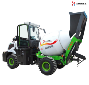 Concrete mixer with self loading from china