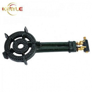 Cooktop parts cast iron bbq grills gas burner for stove