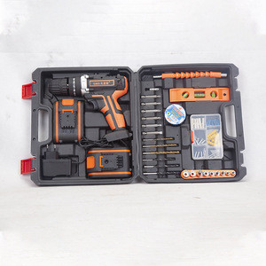Cordless electric drill Electric tool set for car repair tool set