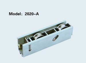 Curtain wall two-spot lock