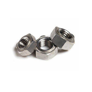 DIN929 stainless steel M12-1.75 SUS 304 Hex weld nut