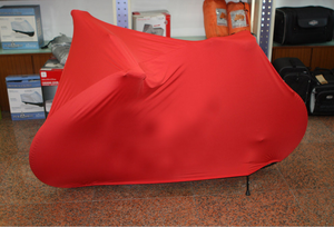 Extra heavy dust-free motorcycle cover
