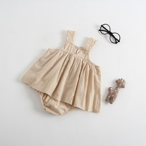 Factory Outlet baby clothes girl/baby dress/Baby bag fart clothing