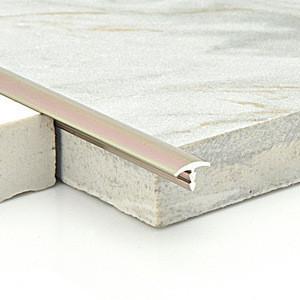 Factory wholesale anodized  tile accessories aluminum T shaped ceramic tile edge trim line strip