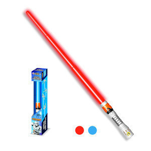 Flashing toy kids light saber laser sword with real movie sounds