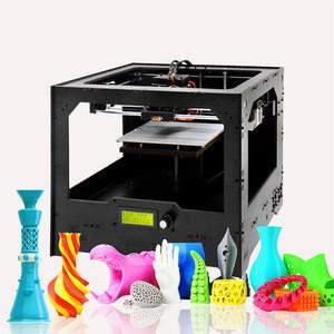 Geeetech cheap multi color dual extruder desktop 3d printer kit