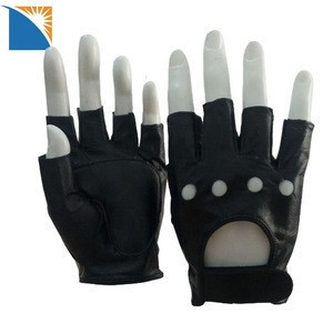 New Retro Real Leather Mens Ladies Winter Driving Mechanical Fashion Gloves