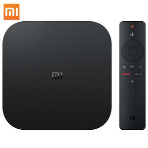 Global Version Xiaomi Mi TV Box S Smart 4k HD Android 8.1 Smart Internet Box S for TV