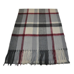 Inner Mongolia factory tartan wool neckwear scarves closeout