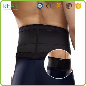 New Design SBS with spring stay Black posture pro back support
