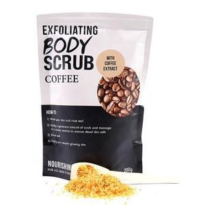 OEM Wholesale Private Label Bag Packing Skin Whitening Vegan Natural Exfoliator Organic Body Scrub
