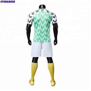 Promotional nigeria football jersey shirt new model soccer