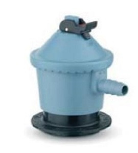 SRG low pressure regulator 591 Jumbo (Clip-On) 30mbar G.56 - 35mm to 8mm hose H.50 incl. flow limiter