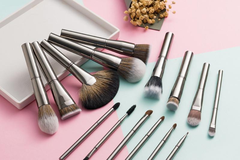 Synthetic Hair Makeup Brush Set Foundation Blush Cosmetic Brushes Kit