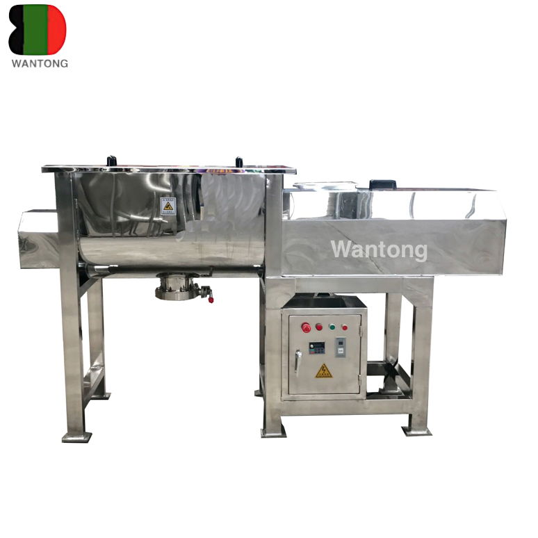 High quality high speed food dry powder mixer machine ribbon mixer blender mixing equipment