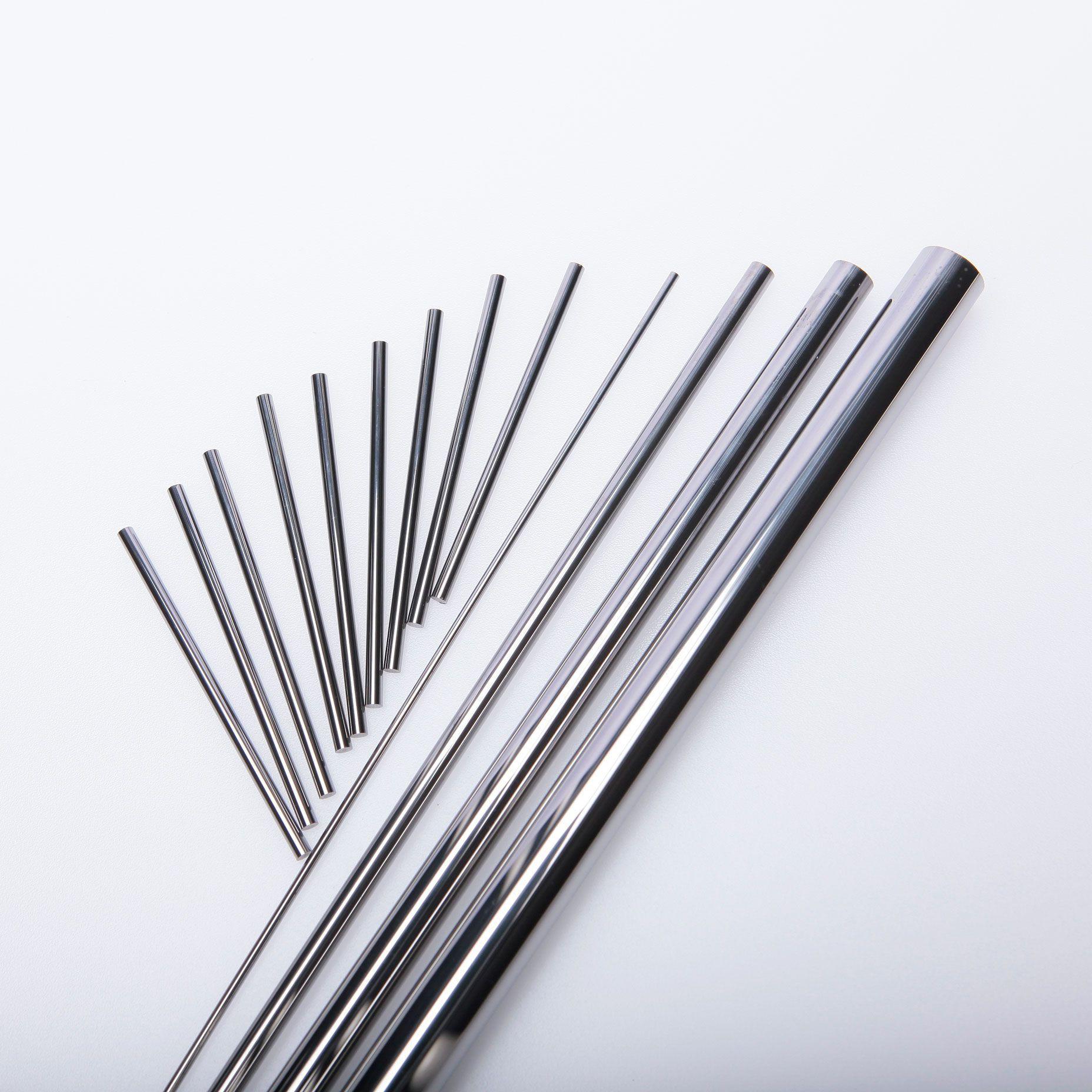 Metal tool parts tungsten carbide blank round bars solid carbide rods tungsten carbide rods