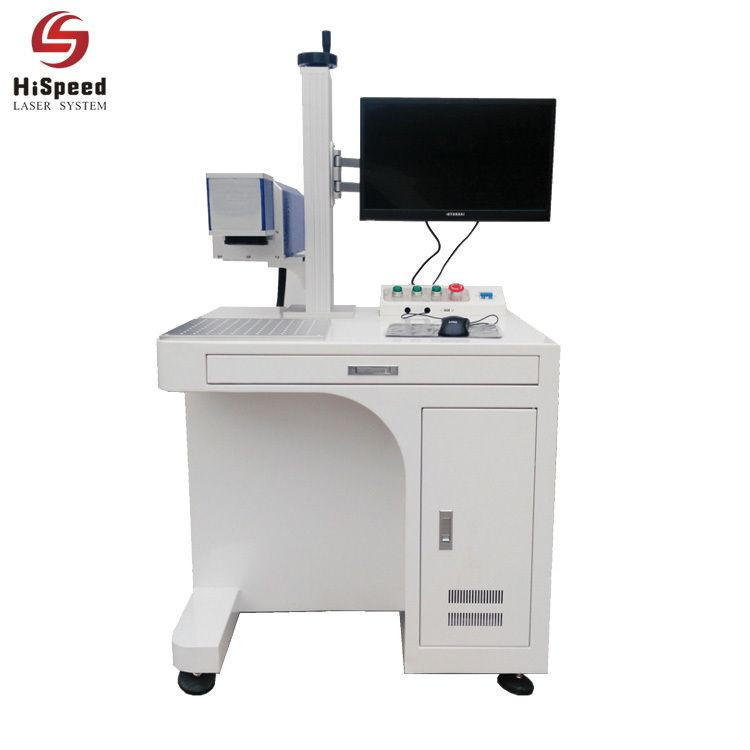 30W Fiber Metal Laser Marking Engraving Machine