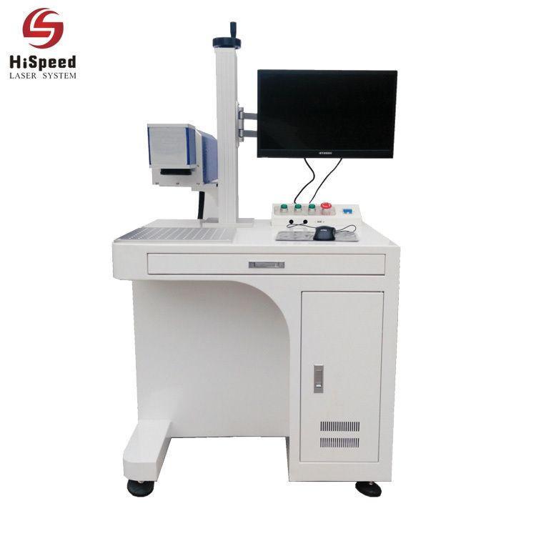 30W Fiber Metal Laser Marking Engraving Machine