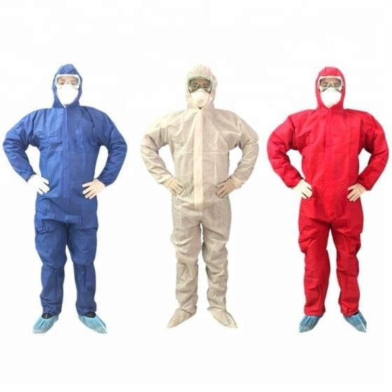 Nonwoven Protective Suit Disposable Medical Protective Clothing