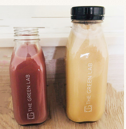 16oz Square juice glass bottle