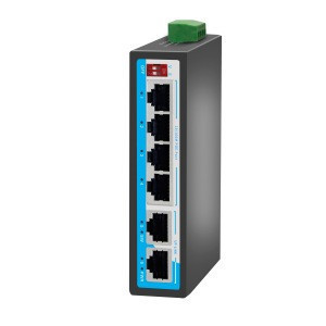 100M 6 port terminal block Din rail  Industrial PoE  network Switch for outdoor used