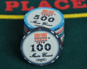10g custom design ceramic poker chips/casino poker chip