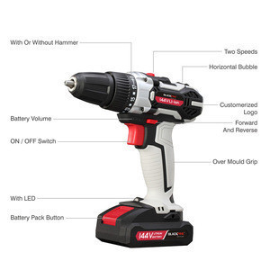 14.4V impact electric drill bits,cordless drills
