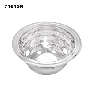 16 inch popular for Mitsubishi Toyota bus light truck stainless steel wheel cover