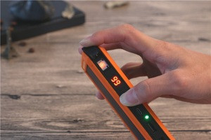 20000mah Solar power bank With Cigarette Lighter led solar charger  Portable Compass Solar Power Banks with compass