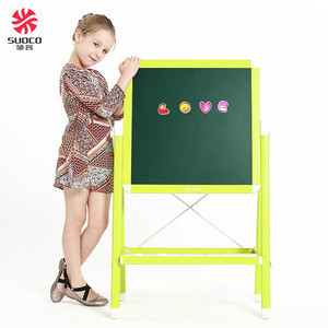 2017 New Style Multifunctional PVC Standing Magnetic Easel for Kids