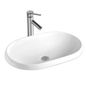 2020 Popular free stand porcelain enamel bathroom garden wash basin