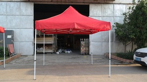 3x3m cheap steel frame factory advertising canopy trade show outdoor tent camping for the event wedding