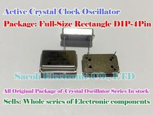 Active crystal Rectangle 30M 30MHZ 30.000MHZ DIP-4 Clock Oscillators